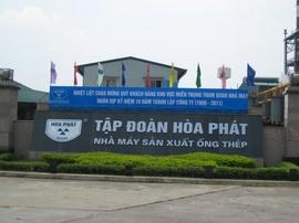Công ty Ống thép Hòa Phát tuyển lao động tại Hưng Yên
