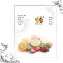 Tp. Hà Nội: In menu, túi đũa, bao thìa, order, khăn giấy ăn, bao tăm, bao đũa, lót ly, lót c CL1074382