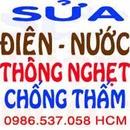 Tp. Hồ Chí Minh: thông bồn cầu, lavabo, bồn rửa chén tận nơi hcm 0986537058 CL1075415