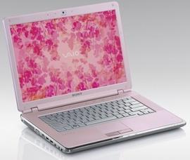 Bán Sony Vaio CR màu hồng cực đẹp 7,5tr