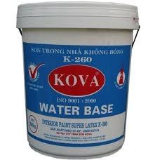 Đại lý cấp 1 sơn Kova, Bán sơn Kova nội thất kinh tế.