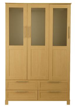 Tủ quần áo gỗ Veneer TAVS-31