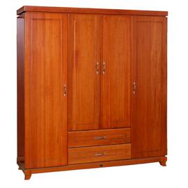 Tủ quần áo 4 buồng gỗ xoan đào TAXD-27