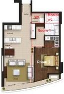 Tp. Hồ Chí Minh: Bán căn hộ City Garden 1 phòng ngủ hướng ĐN, dễ cho NN thuê CL1145835P4
