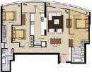 Tp. Hồ Chí Minh: Bán căn hộ City Garden 3PN view hồ bơi và Q1 tầng 23 ,chỉ 2100$/ m CL1119661P9