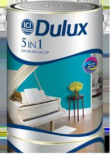 Bán sơn ICI, Bán sơn ICI nội thất cao cấp Dulux 5 in 1.