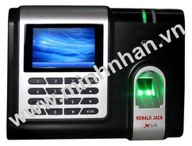 máy chấm công vân tay ronald jack x628. giá rẽ nhất+hàng mới nhập