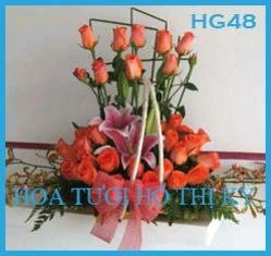 Bó hoa tươi chợ Hồ Thị Kỷ giá tốt nhất!!! (liên hệ:QHằng 0987314475)