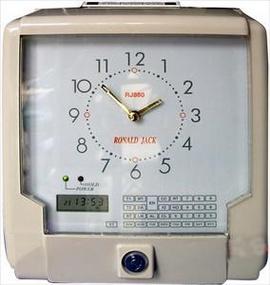 máy chấm công thẻ giấy ronald jack RJ-880. giá rẽ+chất lượng cao