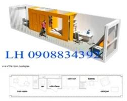thuê container văn phòng, thuê container văn phòng 20 feet