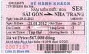 Tp. Hồ Chí Minh: Bán vé tàu Sài Gòn - Nha Trang 21/ 01/ 2012 SE8 CAT246_255_306