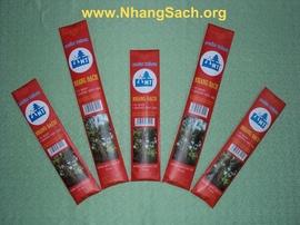 Nhang sạch không hóa chất bảo vệ sức khỏe của gia đình bạn