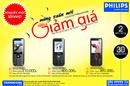 Tp. Hồ Chí Minh: Giá ưu đãi khi mua online đtdđ Philips tại Thành Công CL1092429