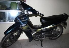 Yamaha Jupiter V đời 2005 màu xanh nhớt, xe zin nguyên, mới đẹp, giá 11,9tr