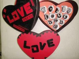 Chocolate Valentine bằng đá