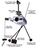 Tp. Hà Nội: Lắp giá treo máy chiếu đa năng-Khung treo máy chiếu chuyên nghiệp CL1110674