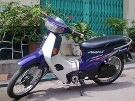 Max II đời 99 màu tím, biển TP, xe Zin, mới đẹp, máy êm, giá 5,6 triệu