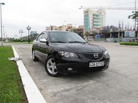 Cần bán Mazda 3 màu đen, số tự động, 1. 6, sản xuất 2004 Option đầy đủ ABS