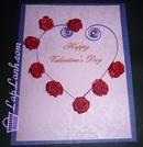 Tp. Hà Nội: Thiệp Valentine, thiệp tình yêu, thiệp giấy cuộn CL1091179