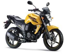Bán moto Yamaha FZ-S màu vàng chanh mode 2012 mới 100%