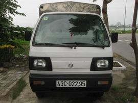Công ty cần thanh lý gấp xe tải Suzuki thùng kín.