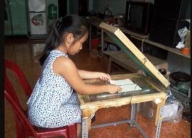 Cơ sở in Hoàng Ngọc nhận dạy in lụa . Dạy từ khâu:Thiết kế-Xuất Film-Chụp bản