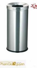 Tp. Hồ Chí Minh: giá thùng rác - thùng rác inox giá tốt nhất thùng rác inox model A35C CL1144777