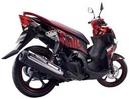 Tp. Hồ Chí Minh: Bán chiếc Nouvo LX ,màu đỏ đen 2010 ,xe mình có gắn dĩa sau phong cách CL1092086