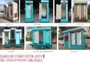 Bình Dương: Giới thiệu nhà vệ sinh di động composite CL1110622P10