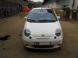 Gia đình cần bán xe Matiz sx2004, xe GĐ sử dụng cẩn thận, xe đẹp, gương kính điện