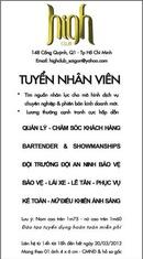 Tp. Hồ Chí Minh: Cty Thiên Cơ Pham - tuyển dụng - nd chờ gửi sau - hỏi lại C. Giang CL1096093
