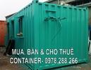 Tp. Hà Nội: Bán container cũ giá rẻ CL1038015