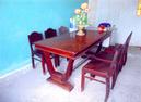 Tp. Hồ Chí Minh: Bán bàn chữ U+6 ghế đai gõ, mặt bàn 1 tấm liền ván hương, 156cmx80,5cm, cao 76,5 CL1096862