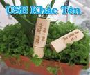 Tp. Hồ Chí Minh: USB 2G vỏ gỗ khắc tên độc đáo CL1110069