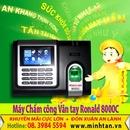Tp. Hồ Chí Minh: bán máy chấm công vân tay chính hãng 8000C- call 0917 321 606 CL1099987
