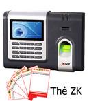 Tp. Hà Nội: Máy chấm công vân tay thẻ ZK Software X628C/ ID CL1099714