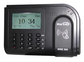 máy chấm công thẻ cảm ứng sản phẩm rẽ nhất Wise eye 300