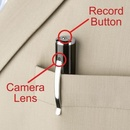 Tp. Hà Nội: Bút camera, Bật lửa, móc chìa khóa, cúc áo camera ngụy trang cực tốt CL1116285