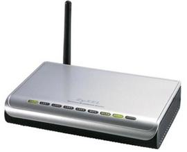 Wifi Router Zyxel P-320W 4port chuẩn G phát sóng cực tốt