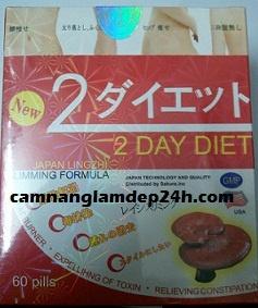 Giảm cân 2 day diet made in USA giảm cân hiệu quả