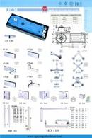 Tp. Hải Phòng: phụ kiện kính, bản lề sàn vvp, kẹp kính, trụ cầu thang kính CL1098807
