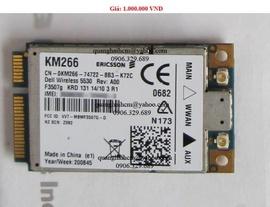 Card wwan 3g + gps sử dụng khe sim laptop dell, hp, ibm. ..