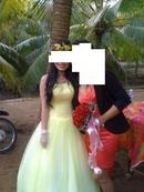 Tp. Hồ Chí Minh: Cần bán 02 cái đầm cưới :1 trắng + 1 vàng chanh rất sang và đẹp mới 100% CAT18