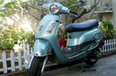 Tp. Hà Nội: Xe Attila màu xanh ngọc, đời chót, kiểu dáng LX, dán màu trắng từ mới, CC nữ sử CL1109673P9