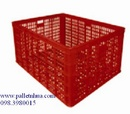 Đồng Tháp: Rổ nhựa, sóng nhựa, Thùng nhựa công nghiệp: thùng nhựa đặc, thùng đan lưới CL1695982P3