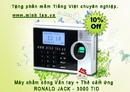 Tp. Hồ Chí Minh: máy chấm công vân tay ronald Jack 4000TIDC- call 0917 321 606 CL1107547P4