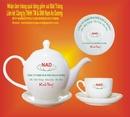 Tp. Hà Nội: Bộ ấm chén trà cao cấp men trắng Bát Tràng. CL1109530