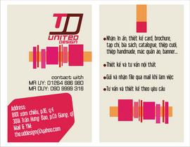 Chuyên nhận In ấn - Thiết kế đồ họa Card Visit, Brochure, VIP Card, Catalogue. ..