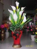 Tp. Hồ Chí Minh: Bán hoa khô, hoa lụa cao cấp giá rẻ và Cắm hoa miễn phí, chợ Bình Triệu, QTĐ CL1111359