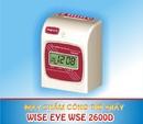 Đồng Nai: máy chấm công thẻ giấy wise eye 2600A/ 2600D. hàng mới nhập CL1110002